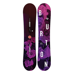 snow_women_burton board